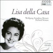 Lisa Della Casa sings W.A. Mozart and Richard Strauss (rec. 1947-1960) [4 CDs]