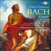 W.F. Bach: Cantatas / Schlick, Schubert, Jochens, Schreckenberger