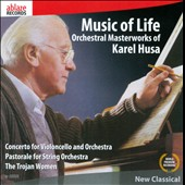 Karel Husa: Orchestral Masterworks - Cello Concerto; Pastorale for Strings et al. / Paul York, cello