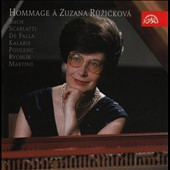 Hommage &agrave; Zuzana Ruzickova - Bach, Scarlatti, De Falla, Kalabis, Poulenc, Martinu et al. / Zuzana Ruzickova, piano