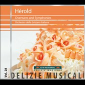 Ferdinand H&eacute;rold (1791 - 1833): Overtures and Symphonies / Hauschild
