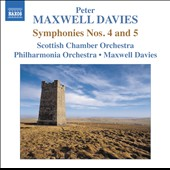 Peter Maxwell Davies: Symphonies Nos. 4 & 5 / Maxwell Davies, conductor