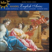 Handel: English Arias from Saul, Theodora, Judas Maccabaeus, Solomon / James Bowman, countertenor
