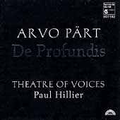 Pärt: De Profundis / Paul Hillier, Theatre of Voices