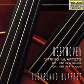 Classics - Beethoven: String Quartet Op 132, etc / Cleveland SQ