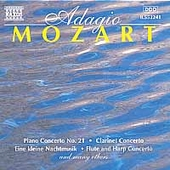 Adagio Mozart: Piano Concerto, Clarinet Concerto, etc