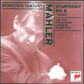 Bernstein Century - Mahler: Symphony no 6 / New York PO