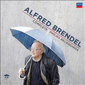 Alfred Brendel: Complete Philips & Decca Recordings including the first release of live recordings and radio boradcasts [114 CDs + 200-page booklet]