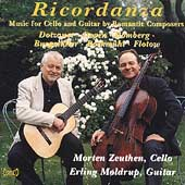 Ricordanza - Music for Cello and Guitar / Zeuthen, Moldrup