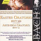 Edition Bachakademie Vol 77 - Easter Oratorio, etc / Rilling