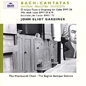 Bach: Whitsun Cantatas / Gardiner, English Baroque, et al