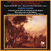Haydn: Flute & Violin Concertos, Divertimento in C Major
