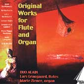 Original Works for Flute and Organ - Hovhaness, Alain, et al