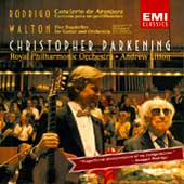 Rodrigo: Concierto de Aranjuez, etc;  Walton / Parkening