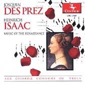 Music of the Renaissance - Josquin, Isaac, etc / Sex Chordae