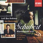 Schubert: Klaviersonate, etc / Bostridge, Andsnes, et al
