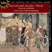 Sacred & Secular Music from 6 Centuries / Hilliard Ensemble