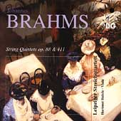 Brahms: String Quintets, Op 88 & 111 / Leipzig Quartet