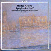 Alfano: Symphonies no 1 & 2 / Yinon, et al