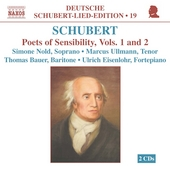 Deutsche Schubert-Lied-Edition 19-Poets of Sensibility 1 & 2