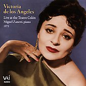 Victoria de los Angeles - Live in Recital