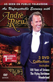 An Unforgettable Evening With Andre Rieu [3 DVD Amaray]