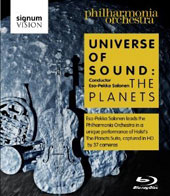Holst - Universe of Sound: The Planets / Philharmonia Orchestra, Salonen - A unique performance captured by 37 cameras [Blu-Ray]