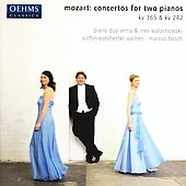 Mozart: Concertos for Two Pianos / Bosch, Walachowski, et al
