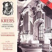 Organ Works of J.L. Krebs Vol 6 / Beatrice-Maria Weinberger