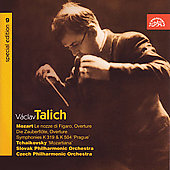 V&#225;clav Talich Special Edition Vol 9 - Mozart, Tchaikovsky