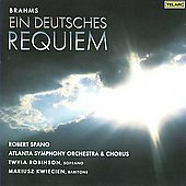 Brahms: Ein deutsches Requiem Op. 45 / Spano, Robinson, Kwiecien, Atlanta SO and Chorus