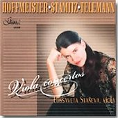 Hoffmeister, Stamitz,Telemann: Viola Concerto / Elissaveta Staneva