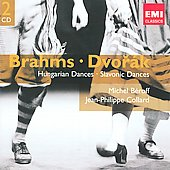 Gemini - Brahms: Hungarian Dances;  Dvorák: Slavonic Dances / Michel Béroff, Jean-Phillipe Collard