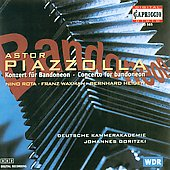 Piazzolla: Concerto for Bandoneon;  Rota, et al / Goritzki