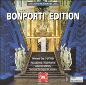 Bonporti: Motets, Op.3