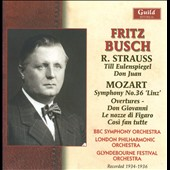 Fritz Busch Conducts Strauss & Mozart