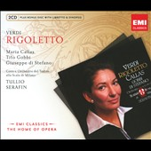 Verdi: Rigoletto / Serafin, Di Stefano [Includes CD-ROM]