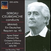 Sergiu Celibidache Conducts Brahms Ein Deutsches Requiem