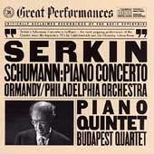 Schumann: Piano Concerto, Piano Quintet / Serkin, Ormandy
