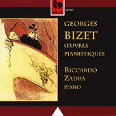 Bizet: Oeuvres Pianistiques / Riccardo Zadra