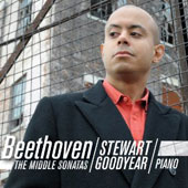 Beethoven: The Middle Sonatas / Stewart Goodyear, piano