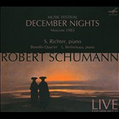 Schumann: Pictures from the East; Six Impromptus; Concert Etude after Paganini; Piano Quintet / Sviatislav Richter
