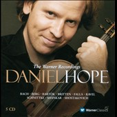 Daniel Hope: The Warner Recordings - Bach, Mozart, Berg, Britten, Foulds, Shostakovich, Shankar, Falla et al. / Daniel Hope, violin
