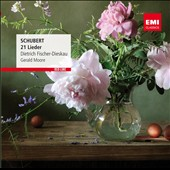 Schubert: 21 Lieder / Dietrich Fischer-Dieskau, baritone; Gerald Moore, piano