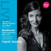 Beethoven: Piano Concertos Nos. 2 & 4 / Jacek Kaspszyk, Sinfonia Varsovia / Ingrid Jacoby, piano