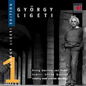 György Ligeti Edition Vol 1 - String Quartets and Duets