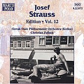 Josef Strauss Edition Vol 12 / Christian Pollack