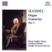 Handel: Organ Concertos Op 4 / Lindley, Creswick, et al