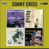 Sonny Criss: Four Classic Albums: Jazz USA/Plays Cole Porter/Go Man!/At the Crossroads *