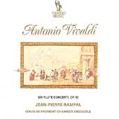 Vivaldi: Six Flute Concerti Op 10 / Jean-Pierre Rampal